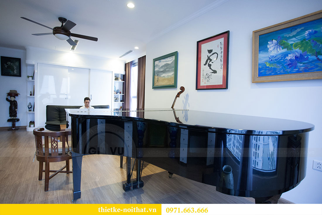 Hoàn thiện nội thất chung cư Park Hill nhà nhạc sỹ Nguyễn Cường 16