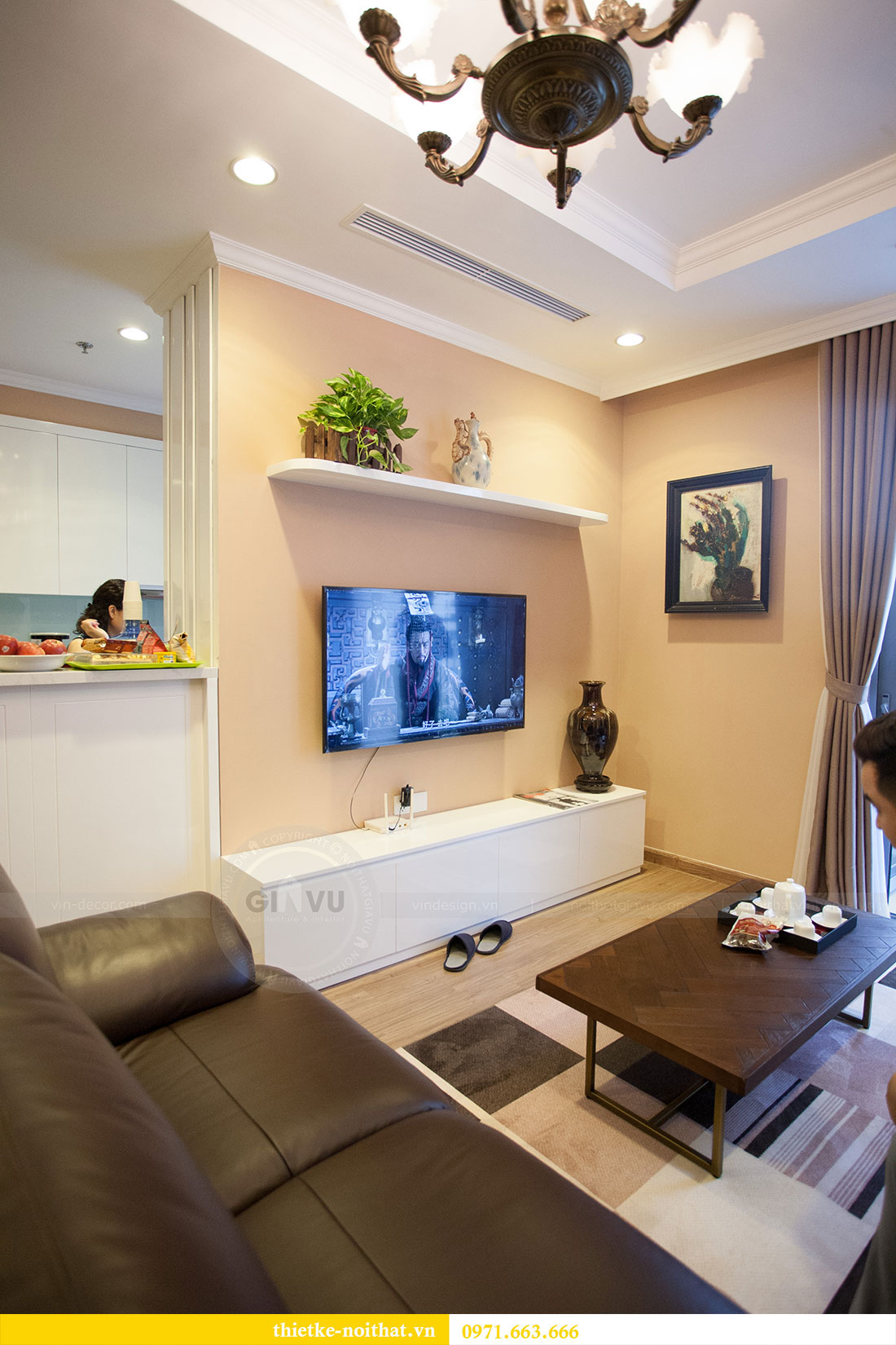 Hoàn thiện nội thất chung cư Park Hill nhà nhạc sỹ Nguyễn Cường 6
