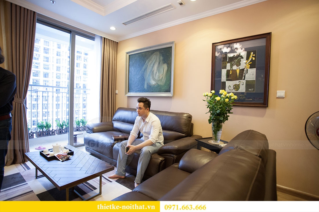 Hoàn thiện nội thất chung cư Park Hill nhà nhạc sỹ Nguyễn Cường 7
