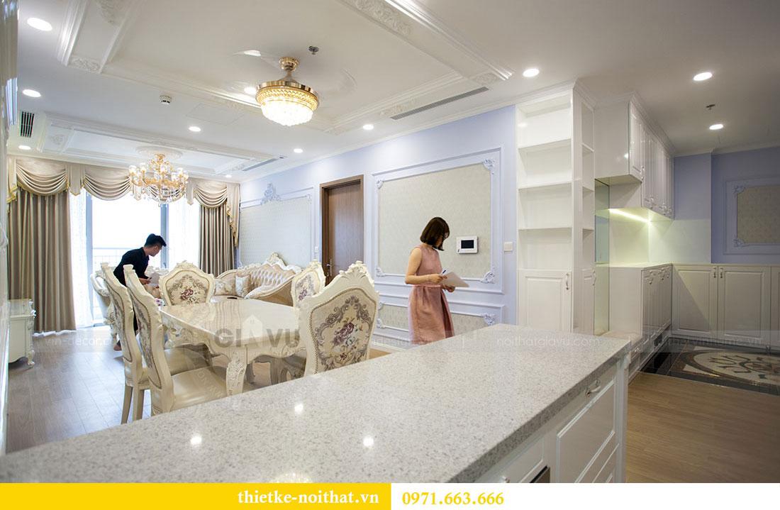 Thi công nội thất chung cư Gardenia căn 05 tòa A3 nhà chị Hoài 2