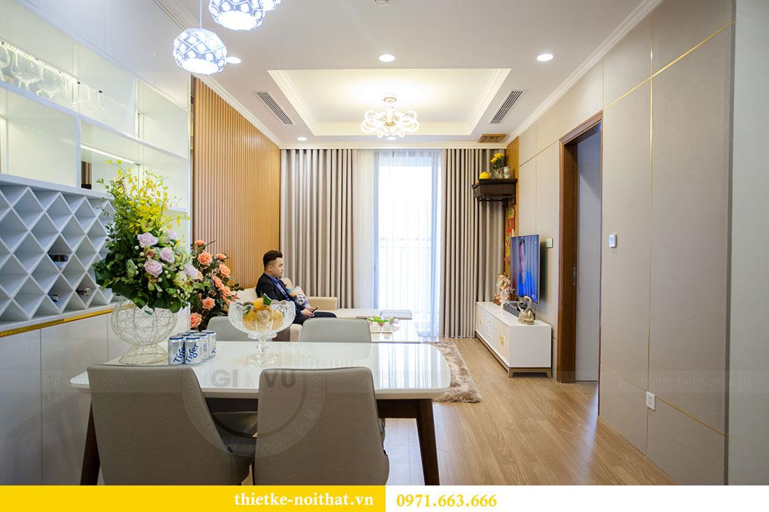 Thi công nội thất chung cư Park Hill 11 căn 09 nhà anh Khôi 1
