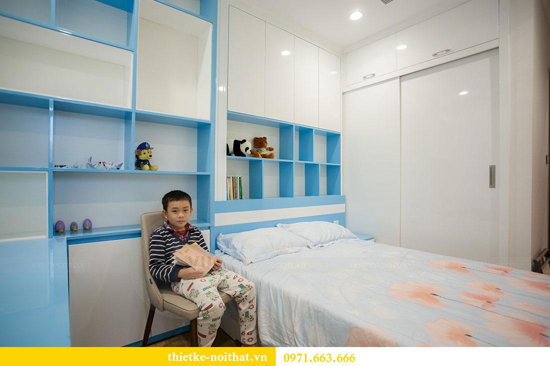 Thi công nội thất chung cư Park Hill 11 căn 09 nhà anh Khôi 11