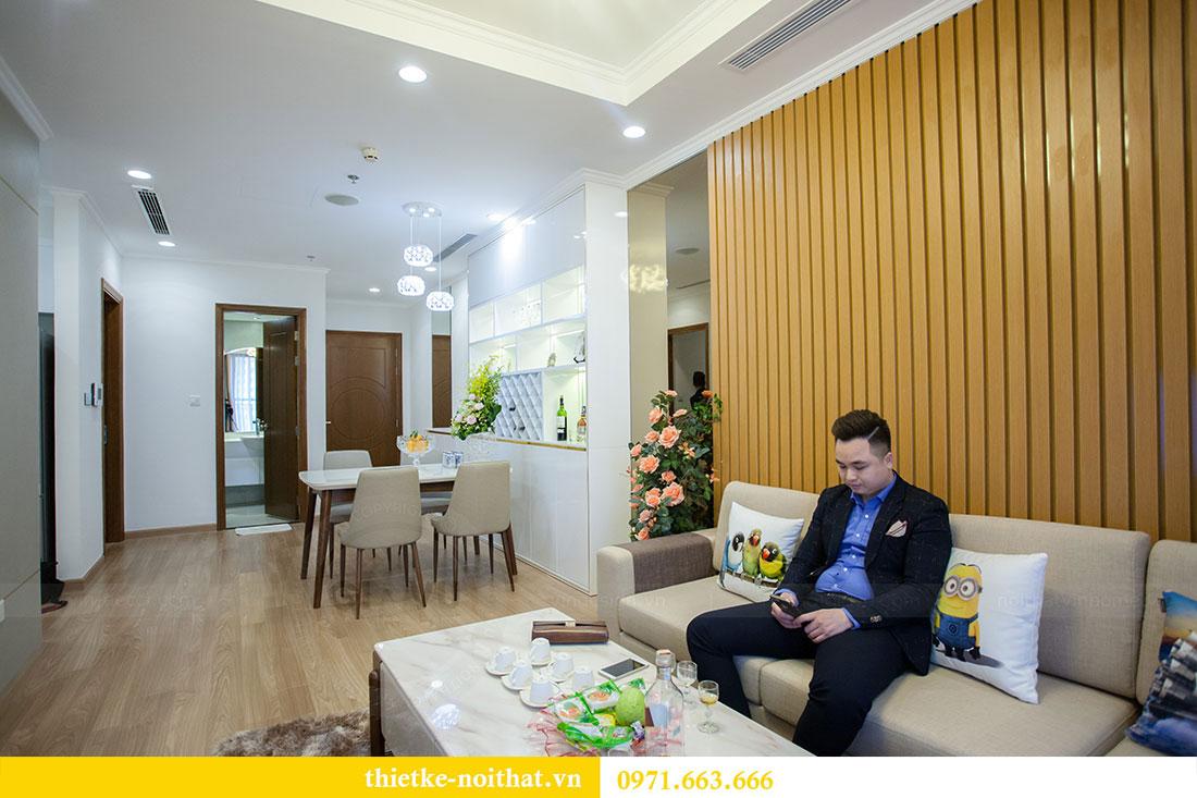 Thi công nội thất chung cư Park Hill 11 căn 09 nhà anh Khôi 5