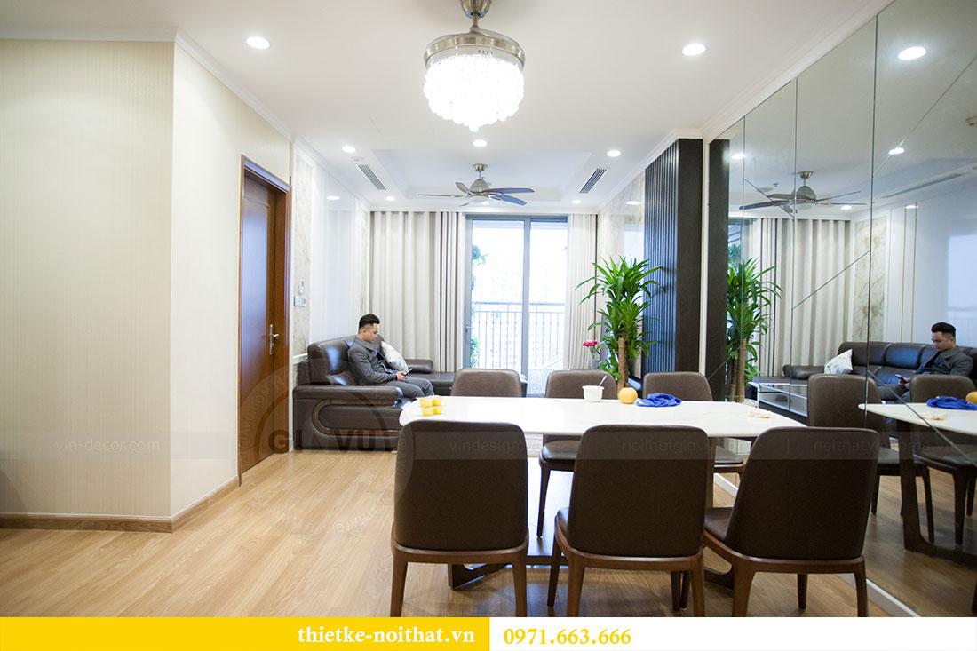 Thi công nội thất chung cư Park Hill 12 căn 10 nhà anh Đảng 3