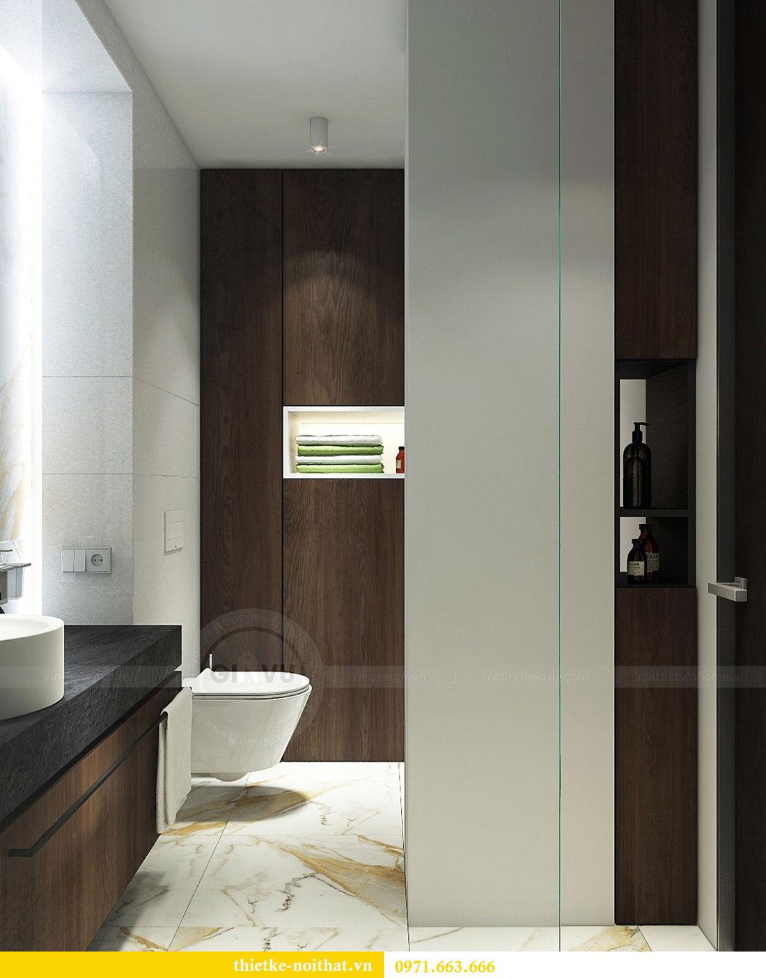 Thiết kế nội thất biệt thự Vinhomes Green Bay Mễ Trì 19
