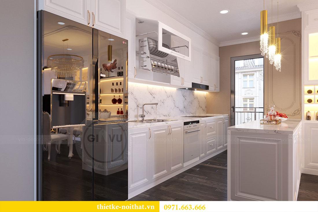 Thiết kế nội thất chung cư Gardenia căn 05 tòa A3 nhà chị Hoài 3