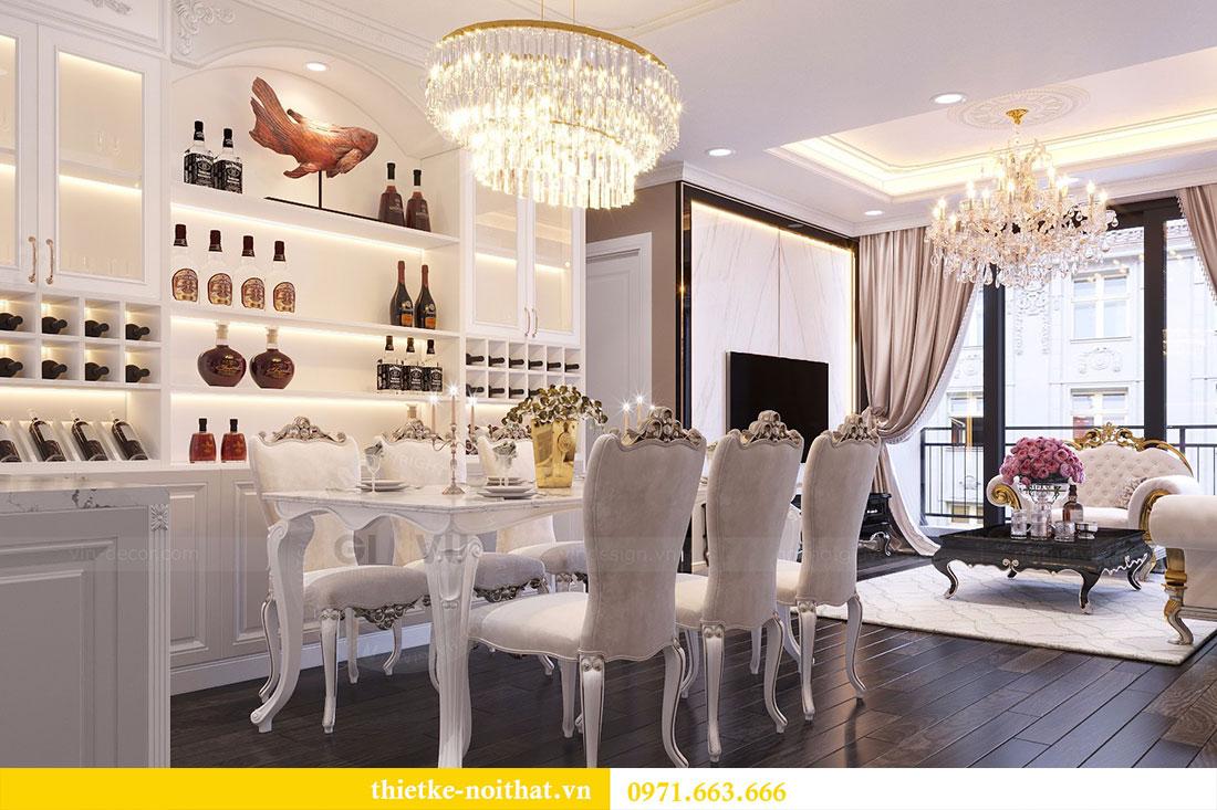 Thiết kế nội thất chung cư Gardenia căn 05 tòa A3 nhà chị Hoài 4