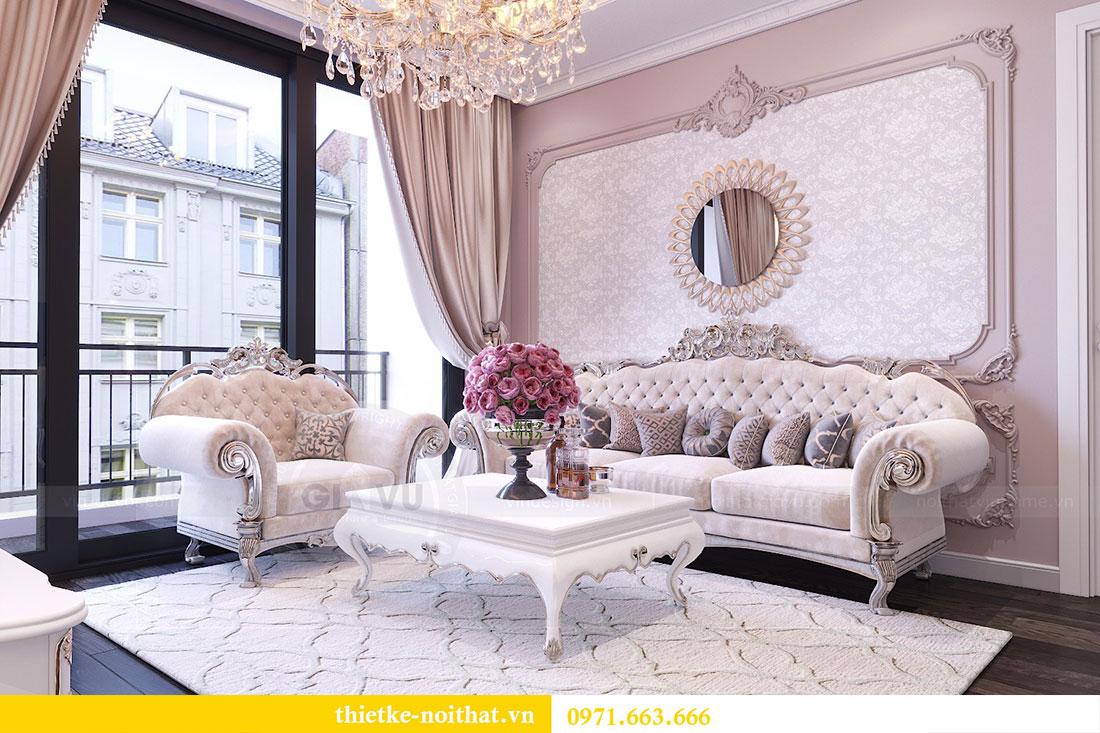 Thiết kế nội thất chung cư Gardenia căn 05 tòa A3 nhà chị Hoài 5