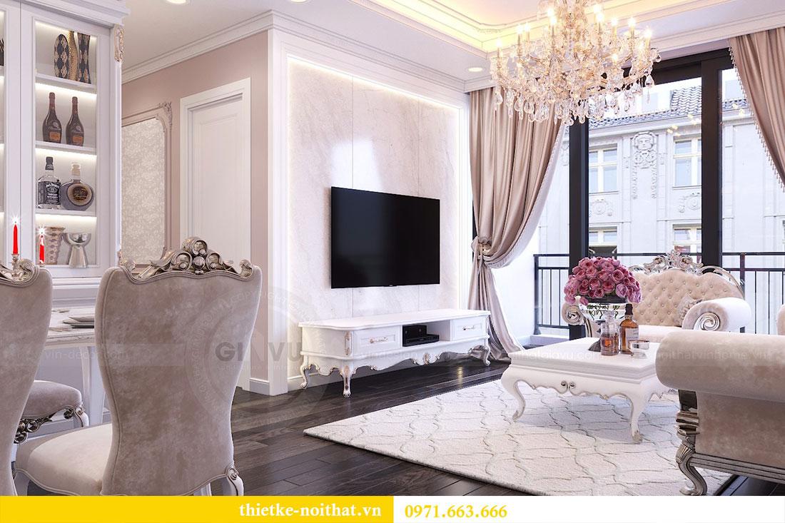 Thiết kế nội thất chung cư Gardenia căn 05 tòa A3 nhà chị Hoài 6
