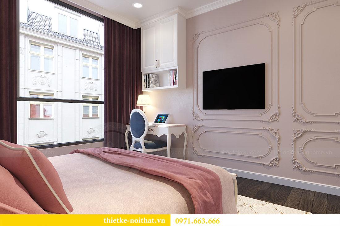 Thiết kế nội thất chung cư Gardenia căn 05 tòa A3 nhà chị Hoài 9