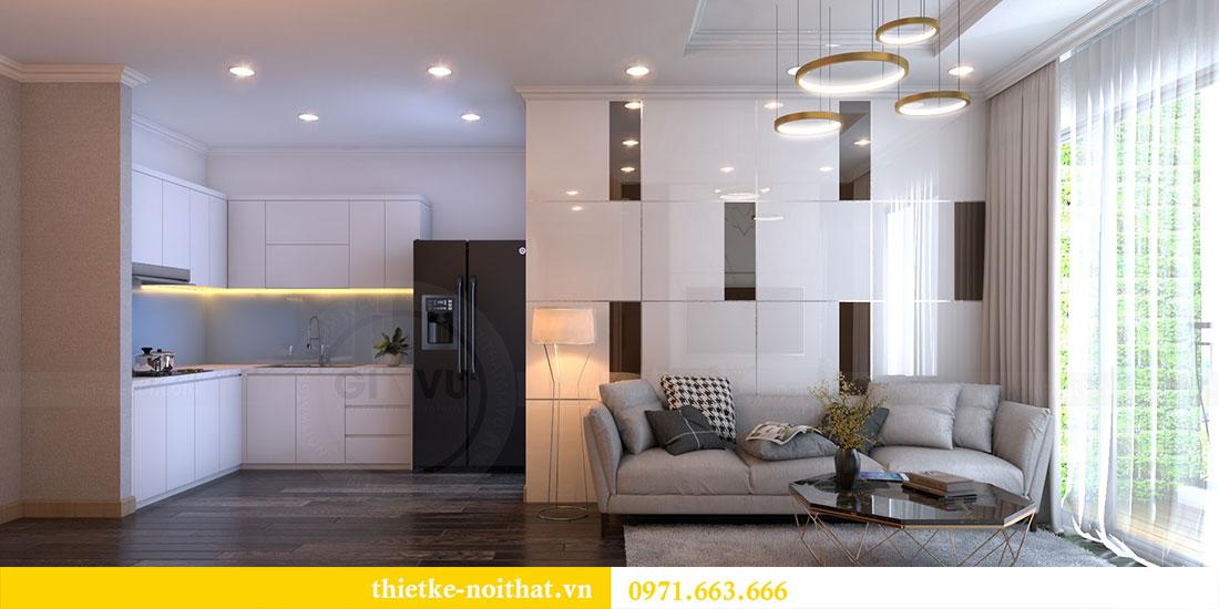 Thiết kế nội thất chung cư Gardenia căn 12A tòa A1 - Anh Hùng 1