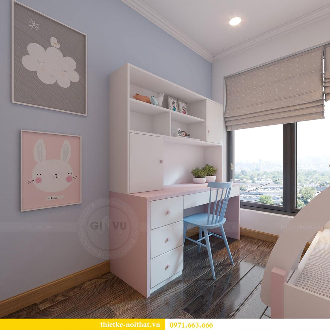Thiết kế nội thất chung cư Gardenia căn 12A tòa A1 - Anh Hùng 10