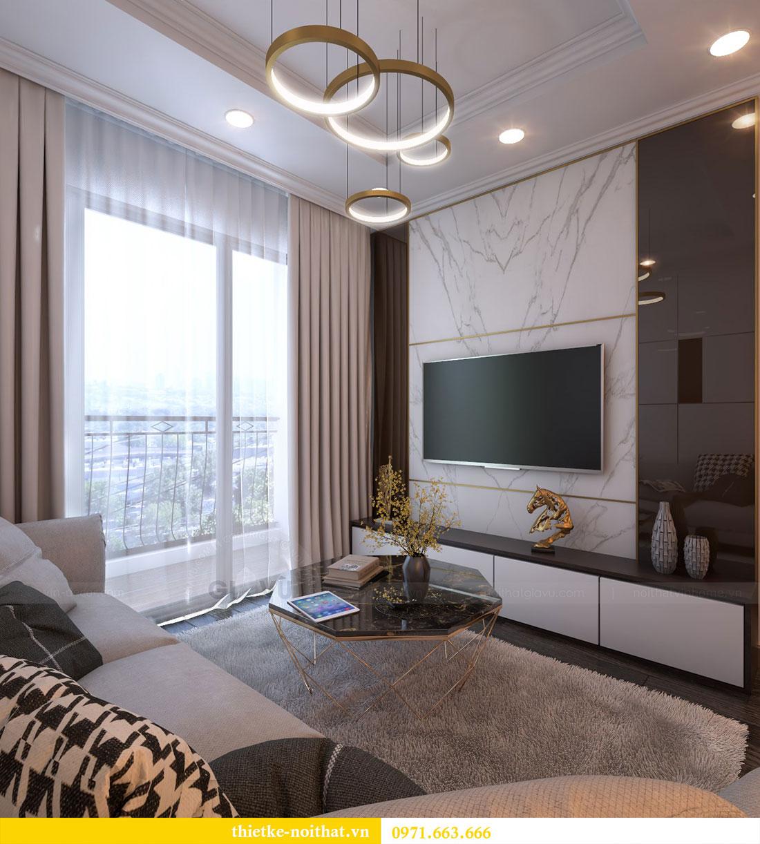 Thiết kế nội thất chung cư Gardenia căn 12A tòa A1 - Anh Hùng 2
