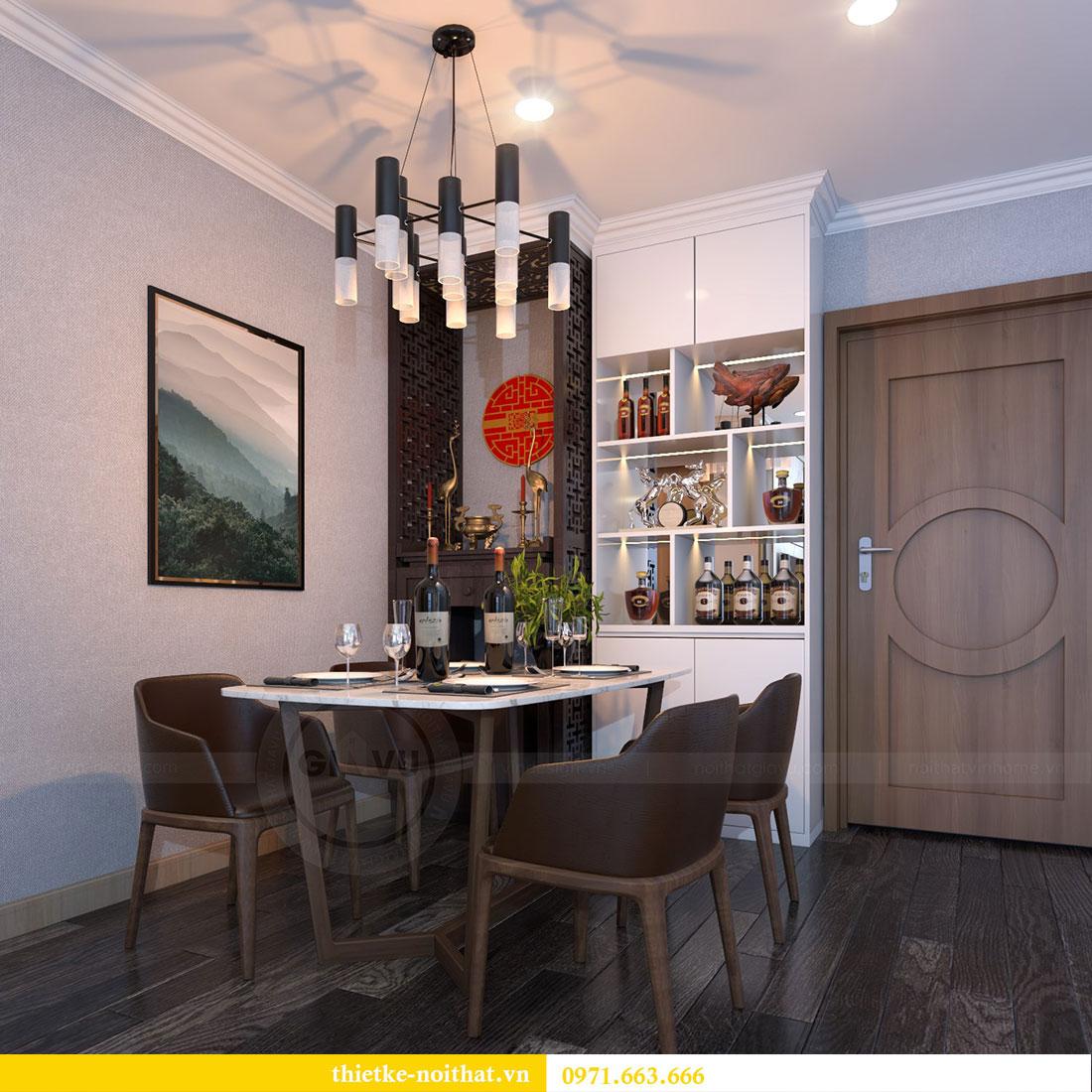 Thiết kế nội thất chung cư Gardenia căn 12A tòa A1 - Anh Hùng 4