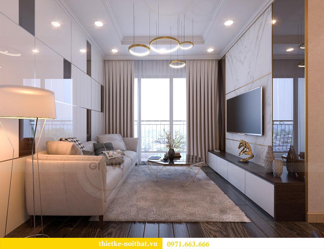Thiết kế nội thất chung cư Gardenia căn 12A tòa A1 - Anh Hùng 5