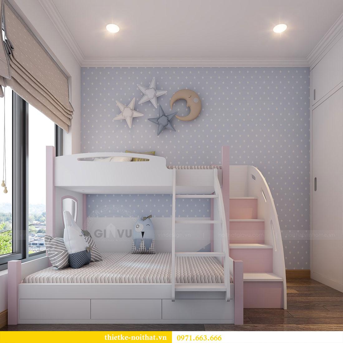 Thiết kế nội thất chung cư Gardenia căn 12A tòa A1 - Anh Hùng 9