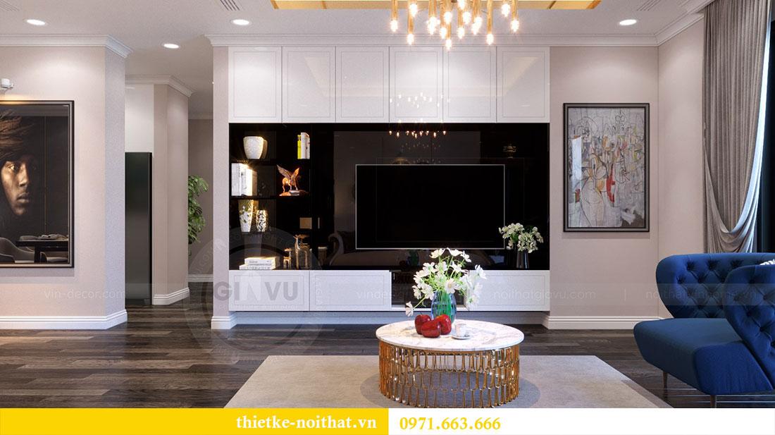 Thiết kế nội thất chung cư Goldsilk căn 04 nhà chị Thủy 1