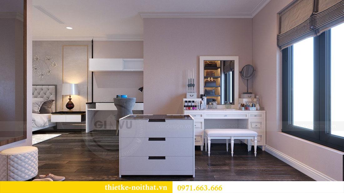 Thiết kế nội thất chung cư Goldsilk căn 04 nhà chị Thủy 11