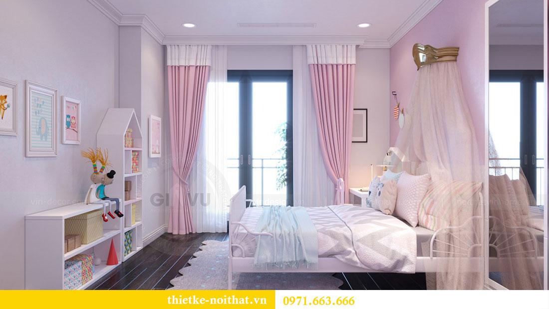 Thiết kế nội thất chung cư Goldsilk căn 04 nhà chị Thủy 13