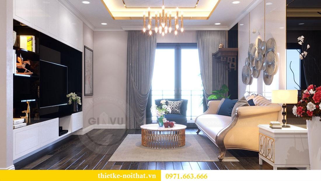 Thiết kế nội thất chung cư Goldsilk căn 04 nhà chị Thủy 2