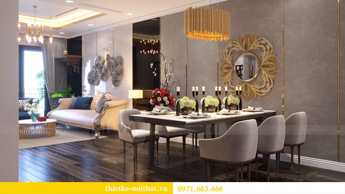 Thiết kế nội thất chung cư Goldsilk căn 04 nhà chị Thủy 3