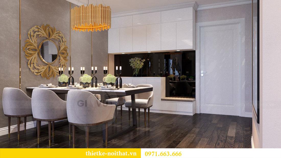 Thiết kế nội thất chung cư Goldsilk căn 04 nhà chị Thủy 5