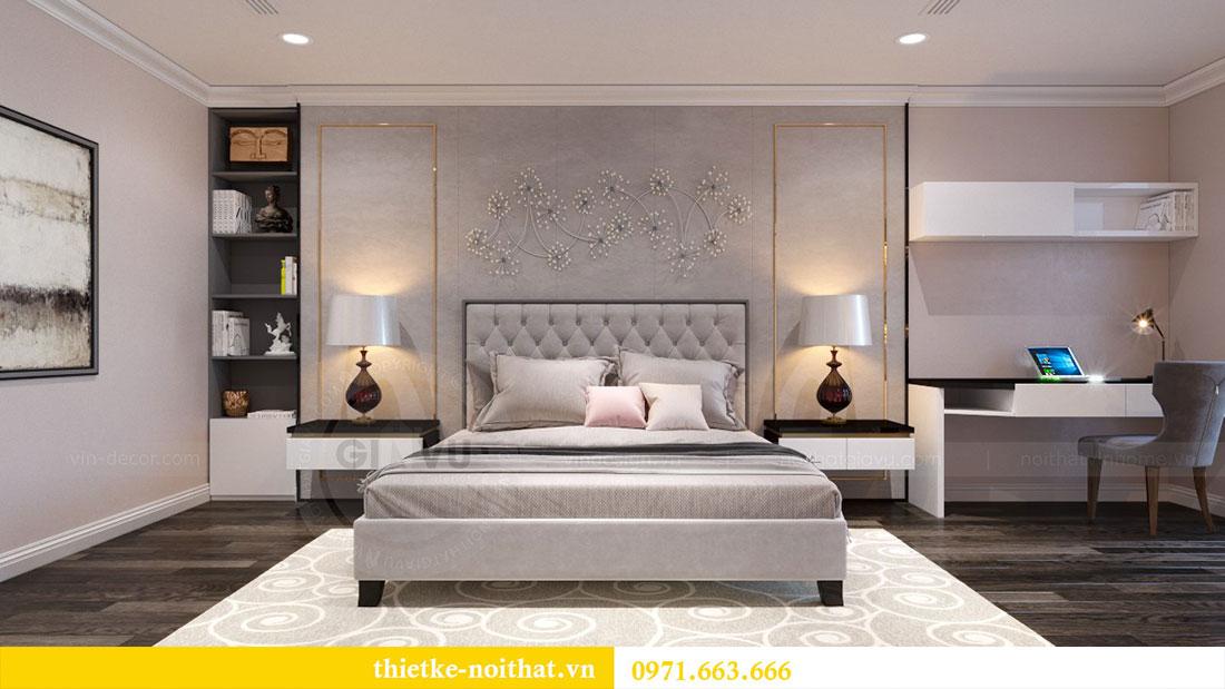 Thiết kế nội thất chung cư Goldsilk căn 04 nhà chị Thủy 8