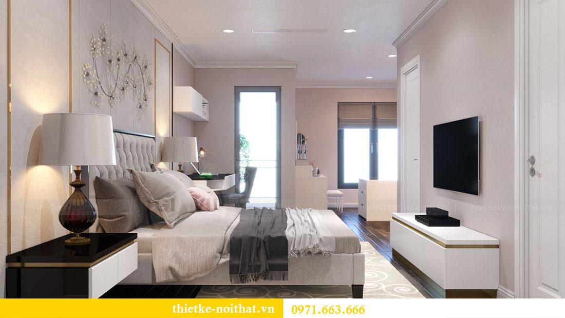 Thiết kế nội thất chung cư Goldsilk căn 04 nhà chị Thủy 9