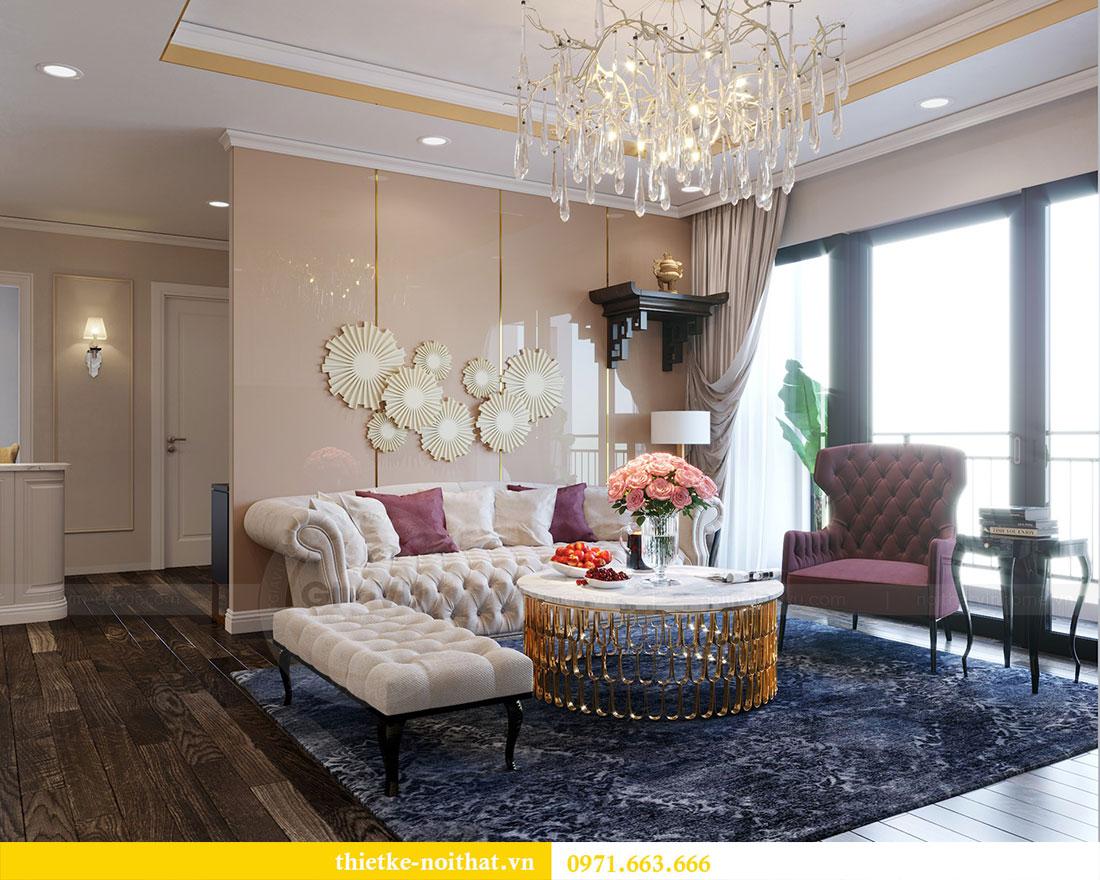 Thiết kế nội thất chung cư Park Hill căn 03 park 10 nhà cô Thể 1