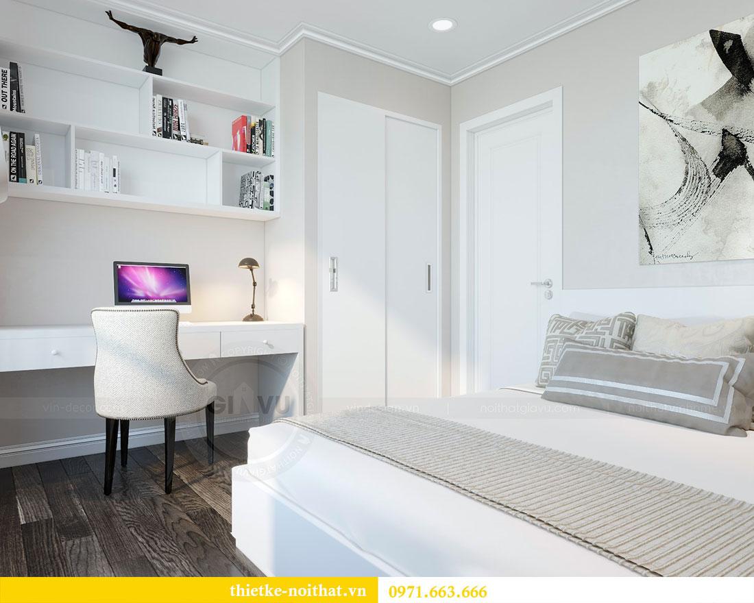 Thiết kế nội thất chung cư Park Hill căn 03 park 10 nhà cô Thể 11