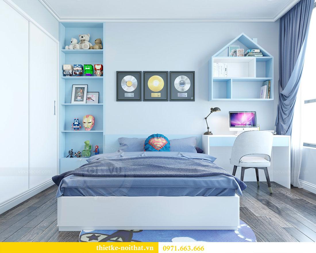 Thiết kế nội thất chung cư Park Hill căn 03 park 10 nhà cô Thể 14