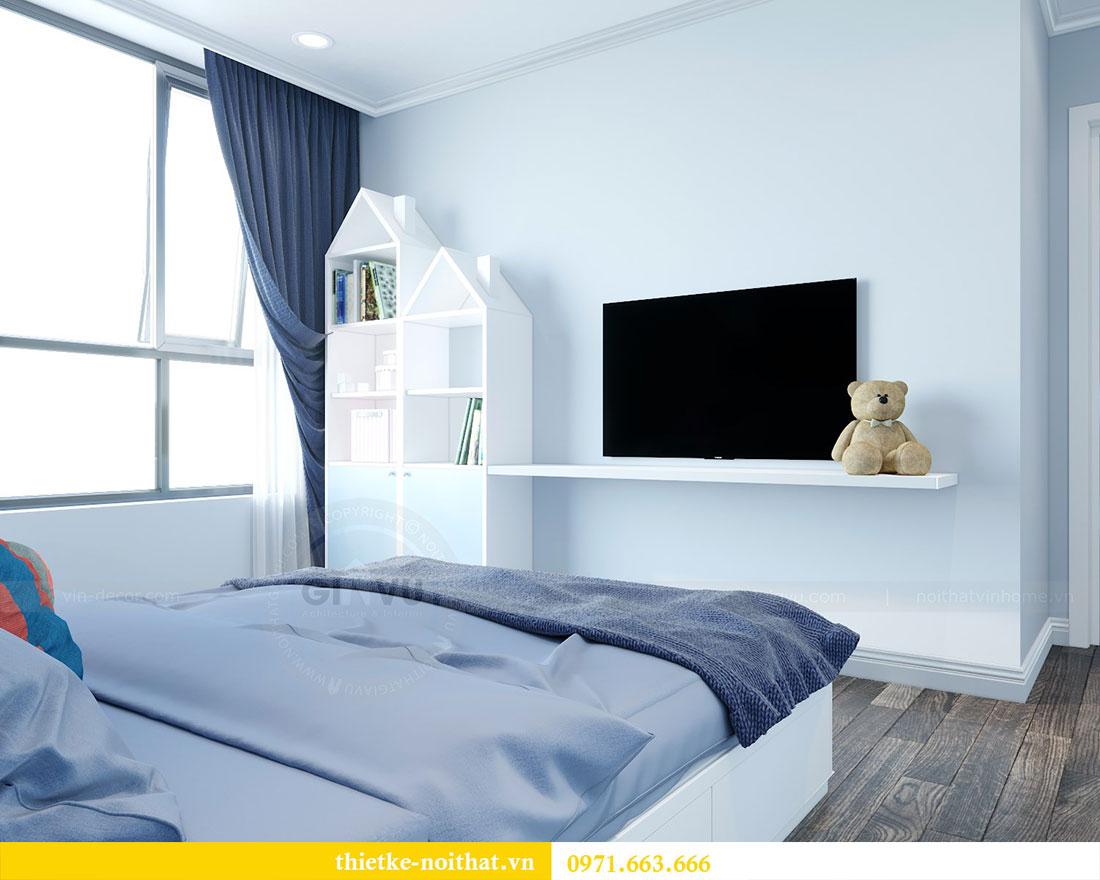 Thiết kế nội thất chung cư Park Hill căn 03 park 10 nhà cô Thể 15