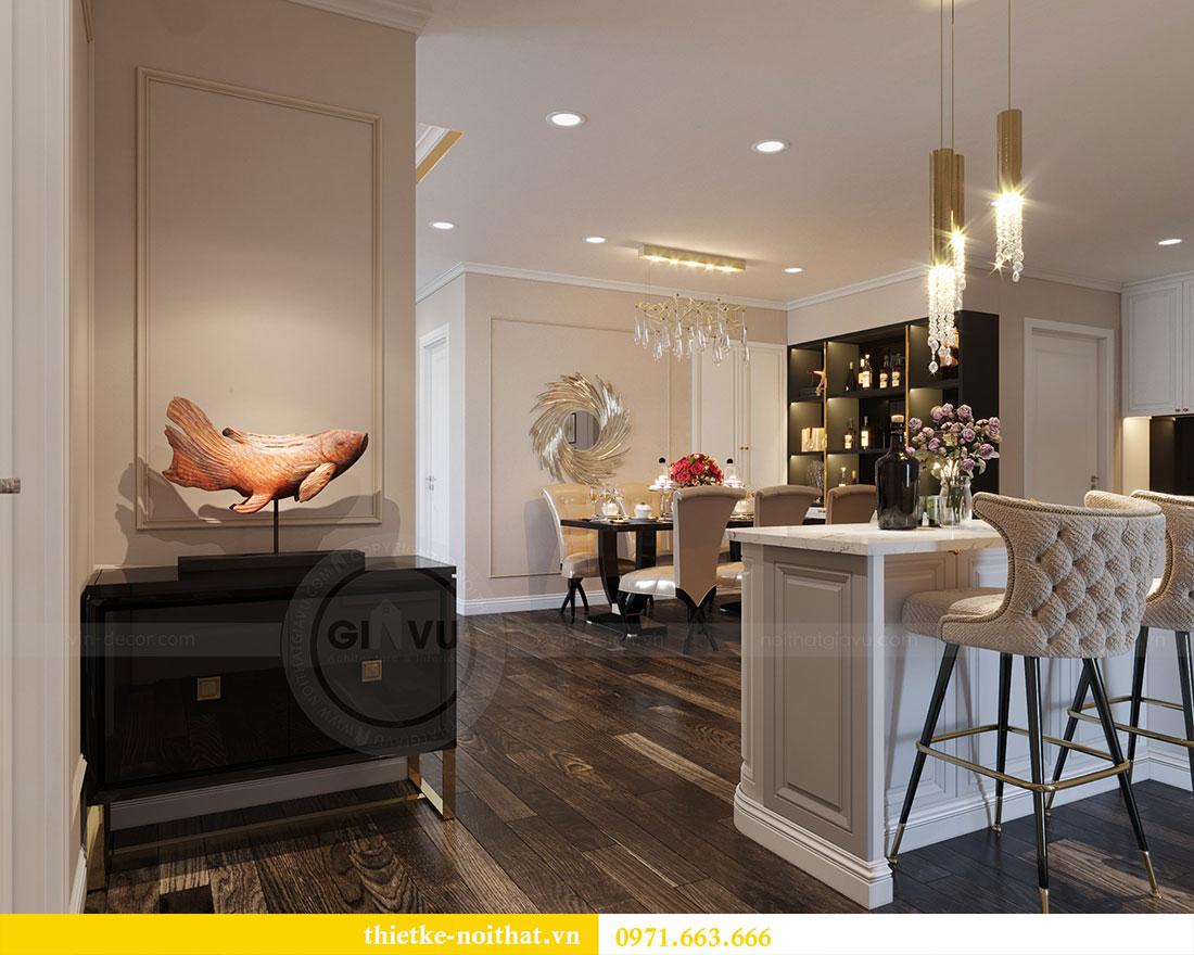 Thiết kế nội thất chung cư Park Hill căn 03 park 10 nhà cô Thể 3
