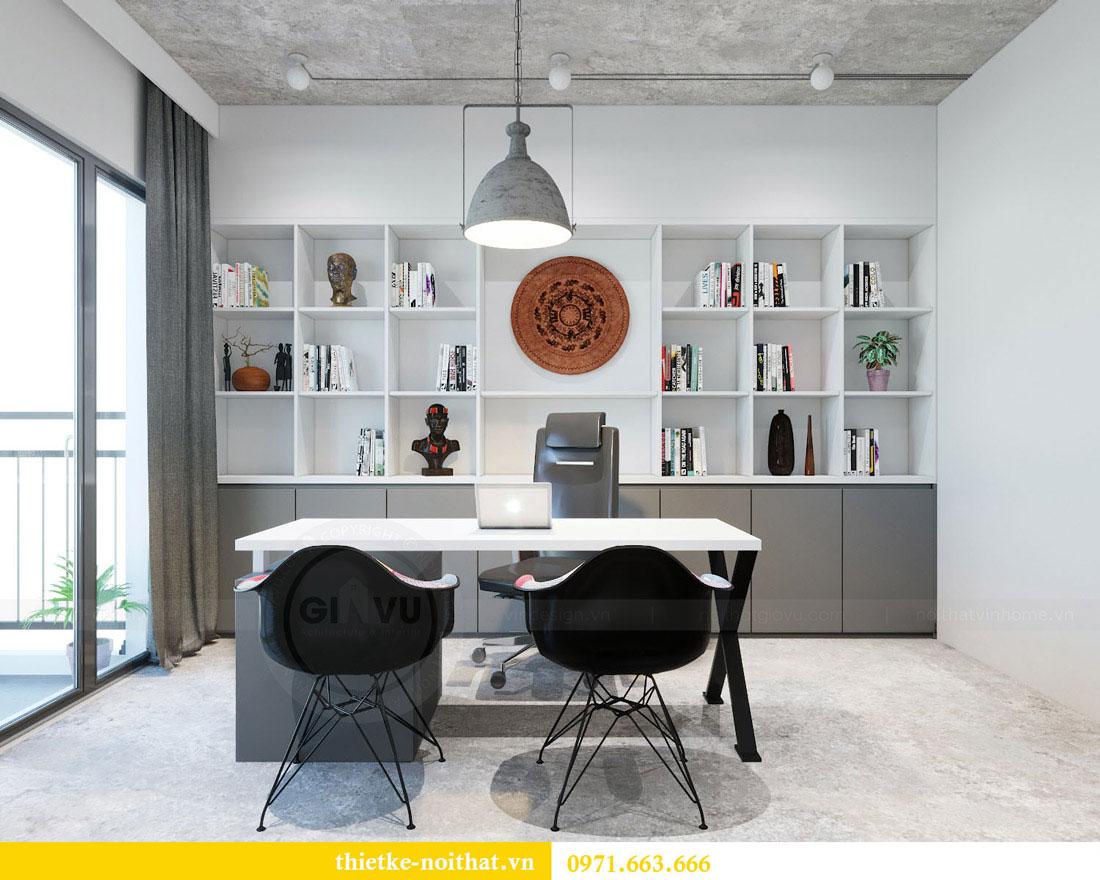 Thiết kế nội thất văn phòng cao cấp tại Hà Nội - Chị Thảo 11
