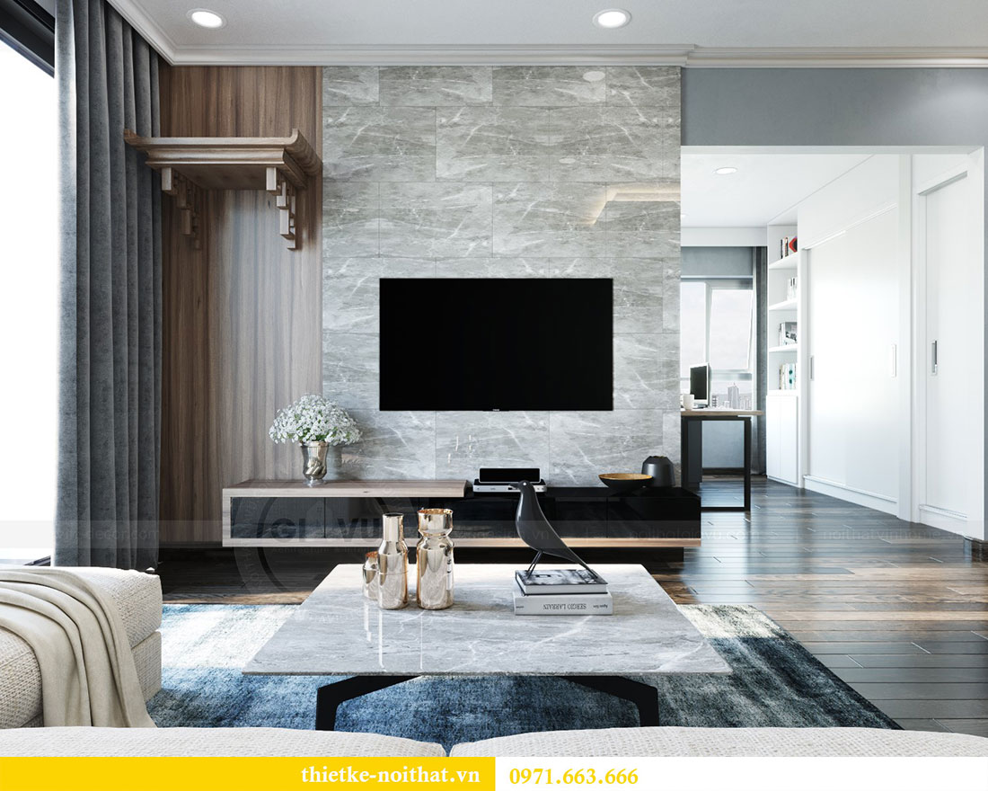Ý tưởng thiết kế nội thất phòng khách đẹp hiện đại 3