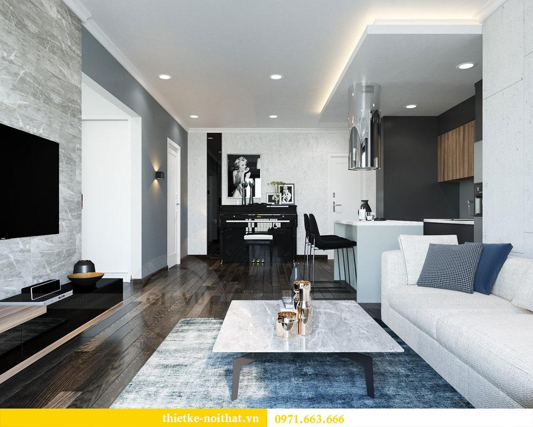 Ý tưởng thiết kế nội thất phòng khách đẹp hiện đại 6