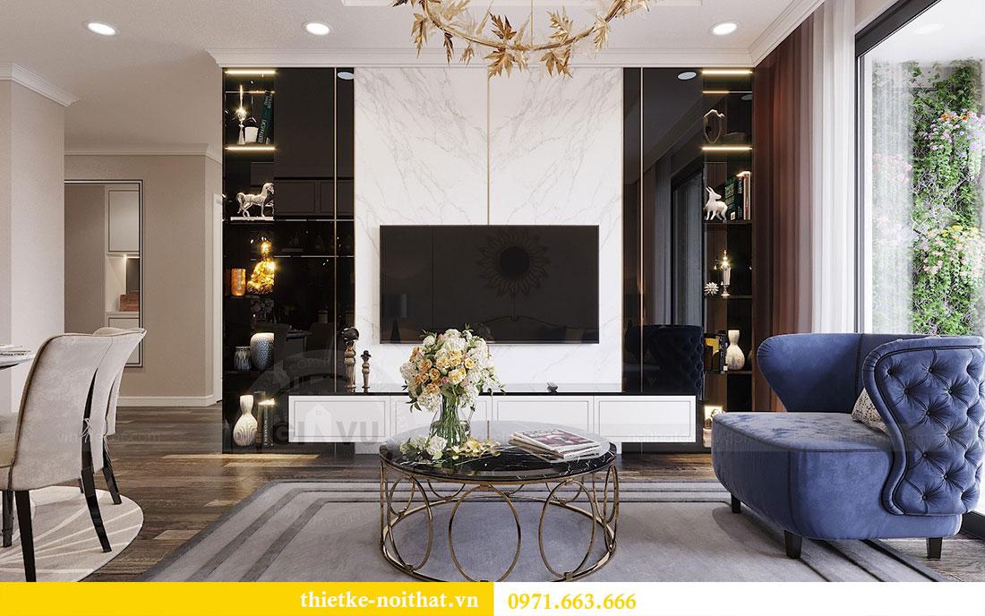 Mẫu thiết kế nội thất chung cư Sun Grand City Ancora Lương Yên 5