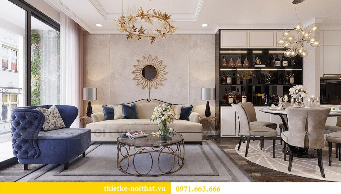 Mẫu thiết kế nội thất chung cư Sun Grand City Ancora Lương Yên 7