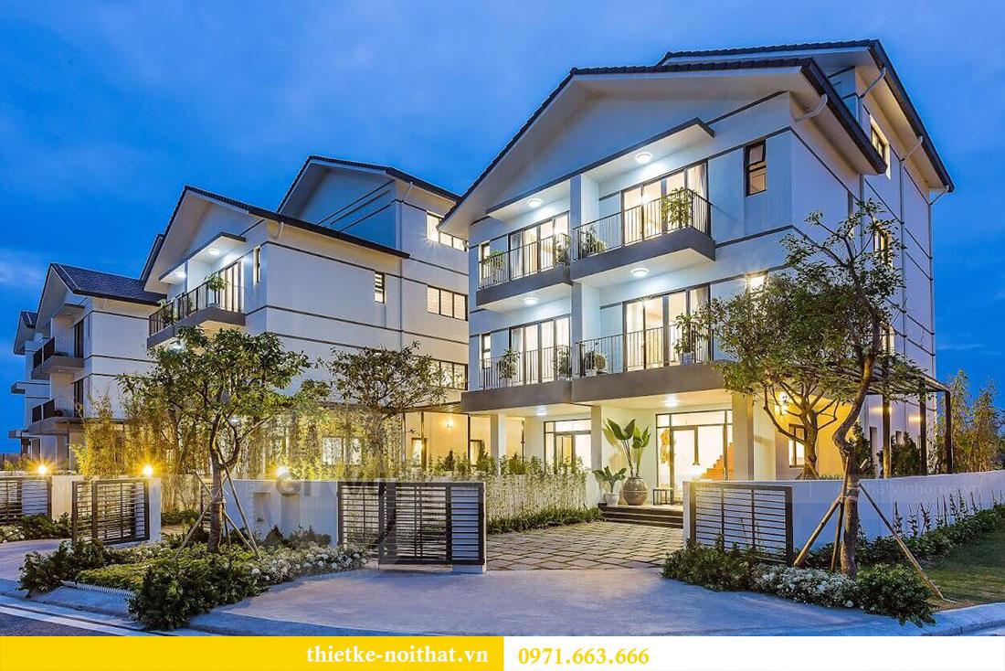 Thiết kế nội thất biệt thự Vinhomes Thăng Long - Lh 0971663666 view 1