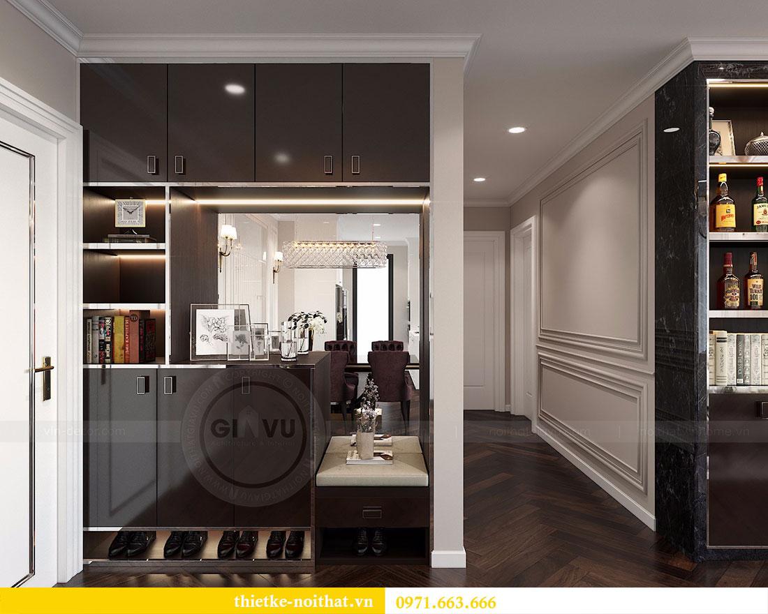 Thiết kế nội thất chung cư D Capitale căn 04 tòa C3 1