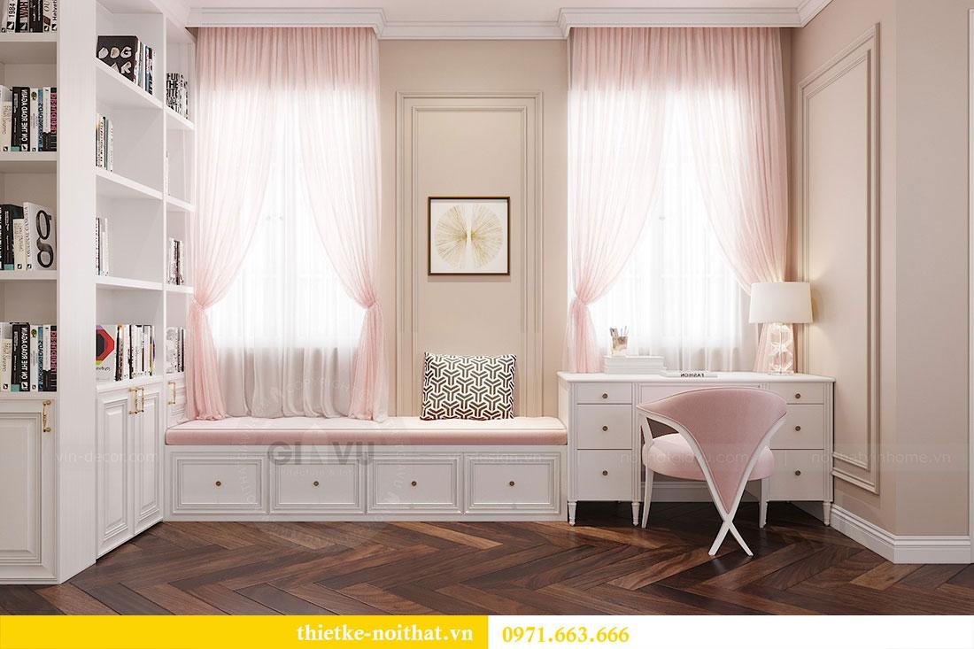 Thiết kế nội thất chung cư D Capitale căn 04 tòa C3 13