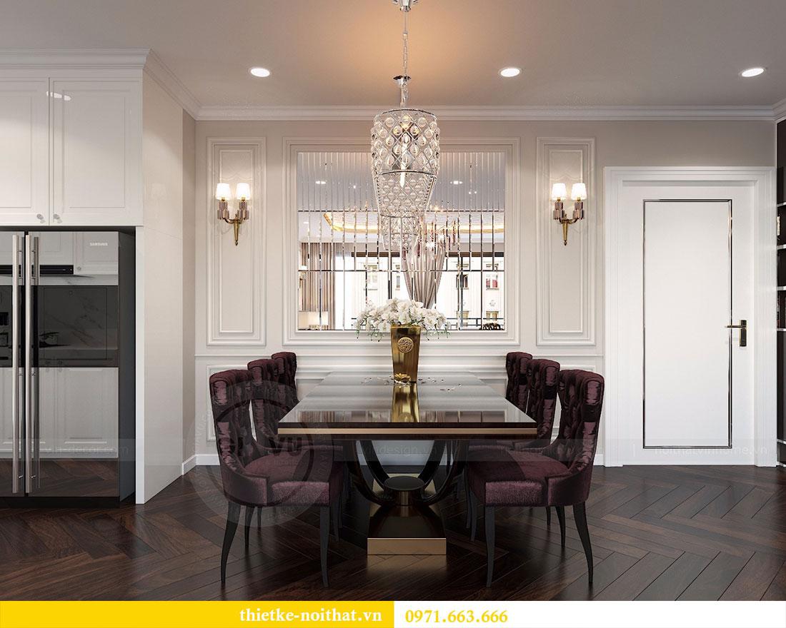 Thiết kế nội thất chung cư D Capitale căn 04 tòa C3 4