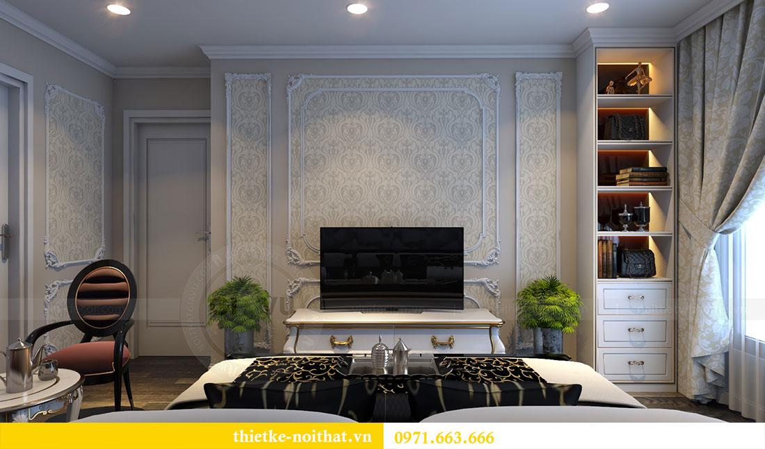 Thiết kế nội thất chung cư D Capitale căn 04 tòa C3 9