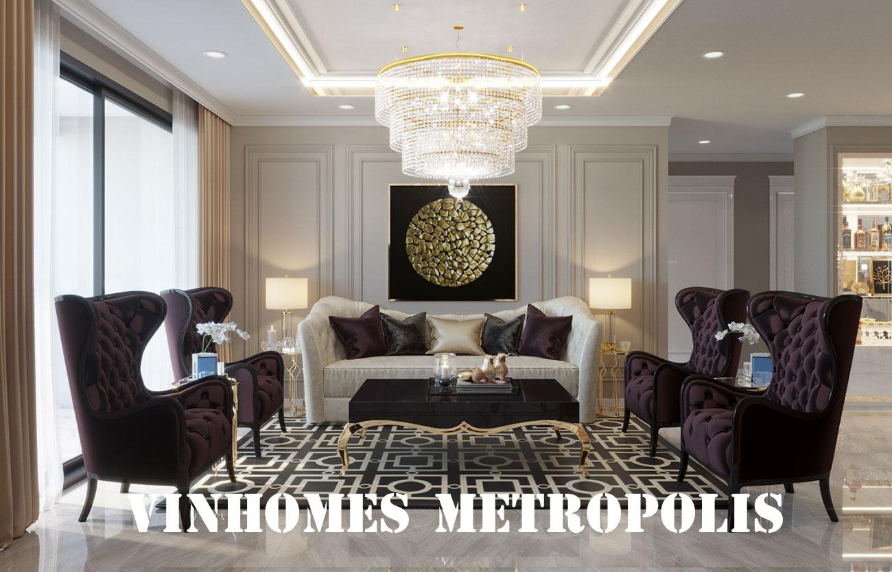 Thiết Kế Nội Thất Chung Cư Metropolis Căn 07 Tòa M1 – Chị Trang