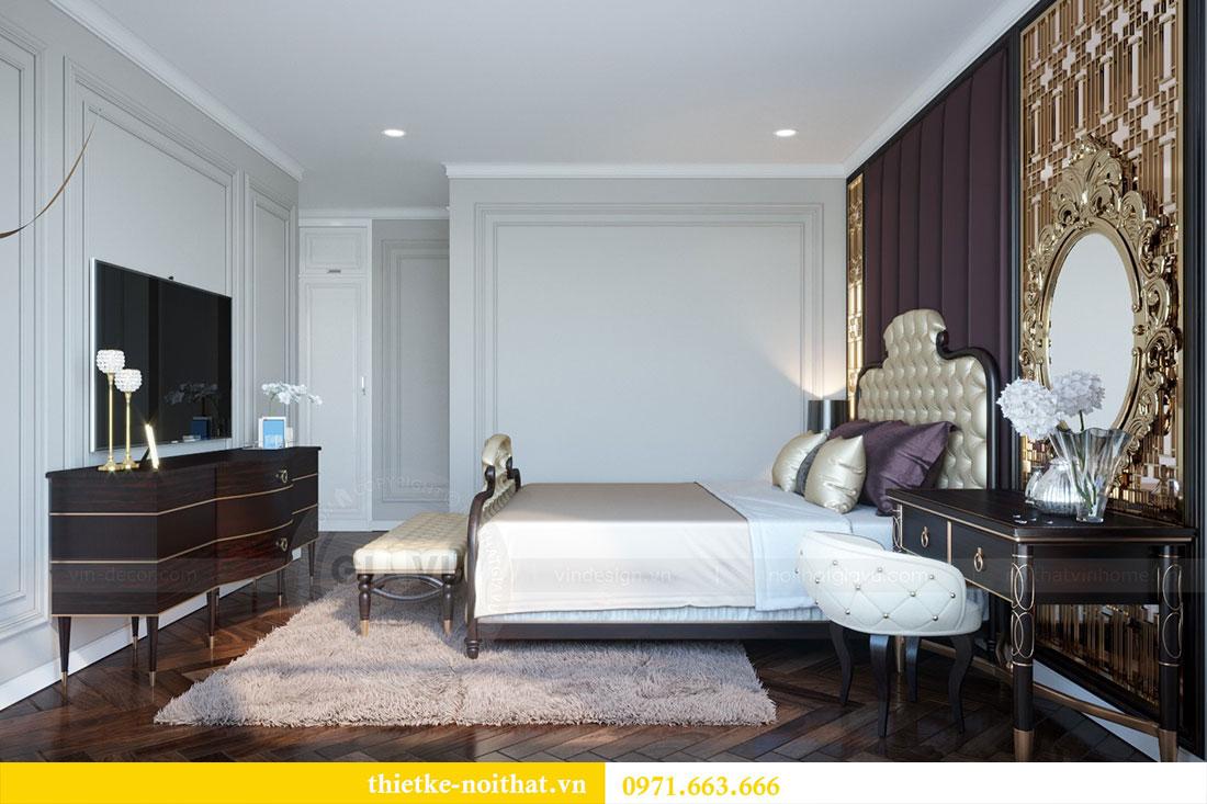 Thiết kế nội thất chung cư Metropolis căn 07 tòa M1 view 7