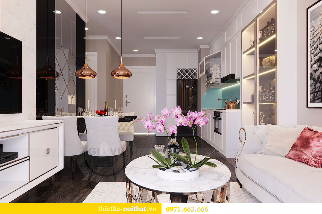 Thiết kế nội thất chung cư Park Hill căn 12A park 10 - Anh Hậu 1