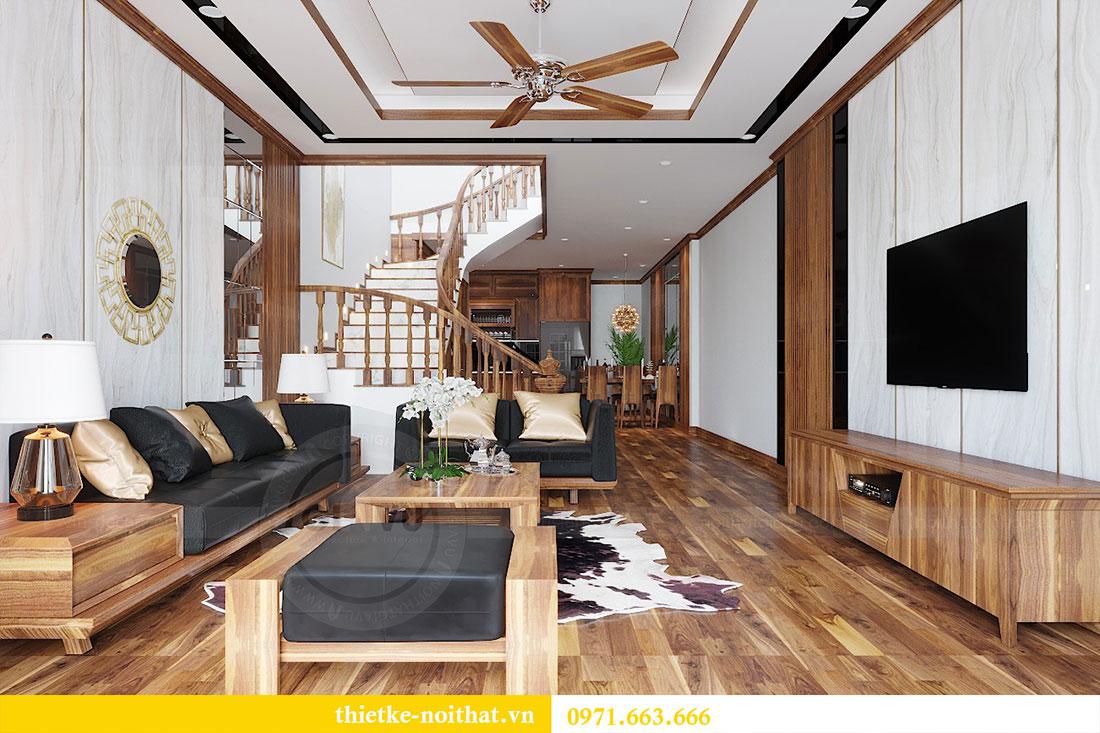 Thiết kế nội thất nhà phố Lạng Sơn gia đình anh Hà 1