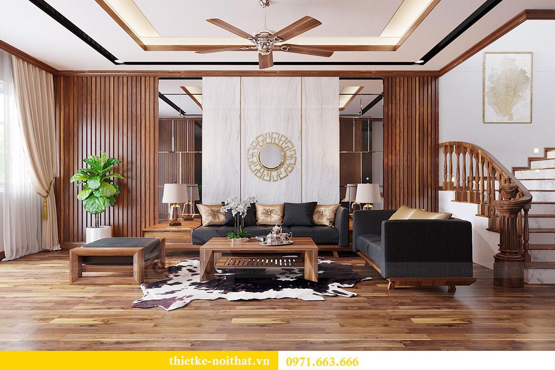 Thiết kế nội thất nhà phố Lạng Sơn gia đình anh Hà 2