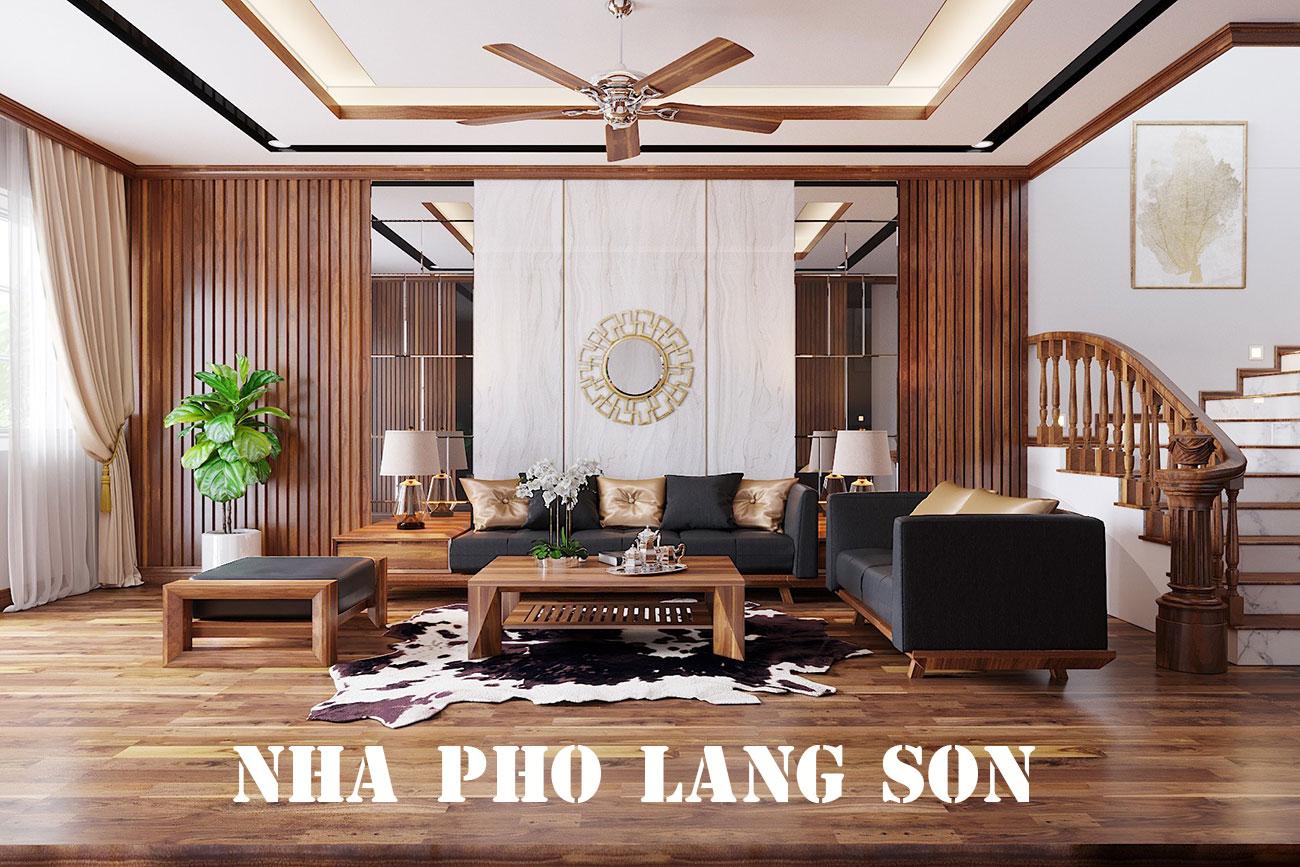 Thiết Kế Nội Thất Nhà Phố Lạng Sơn Gia đình Anh Hà