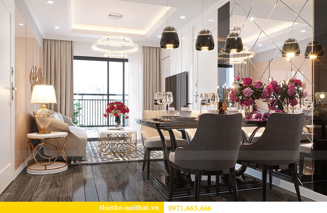 Thiết kế chung cư Vinhomes D Capitale căn 07 tòa C1 - Anh Khương 1